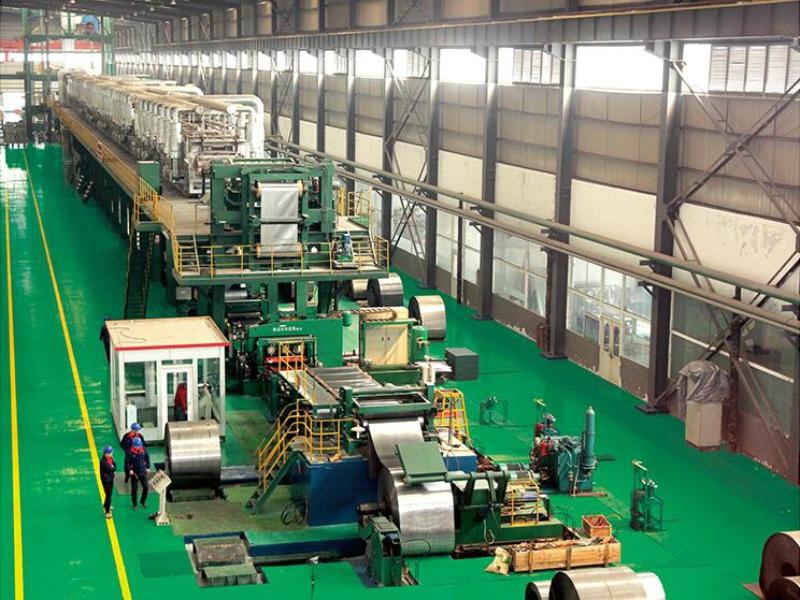 Galvanized Steel Production Line