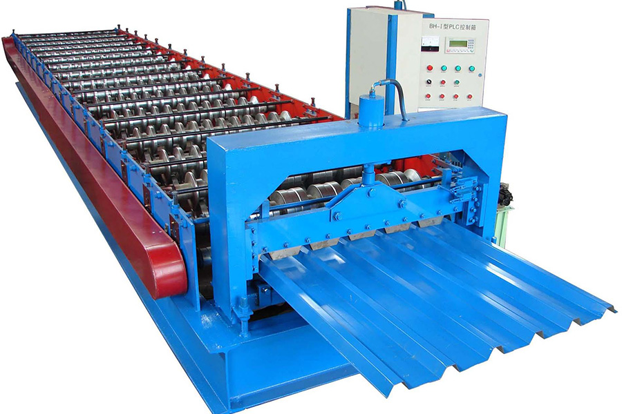 Corrugated Steel Sheet Production Line
