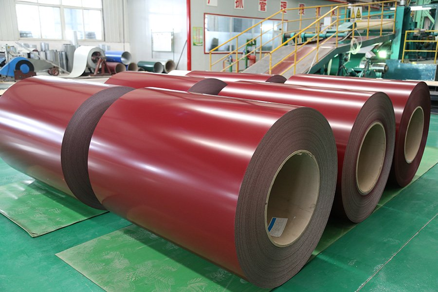Ppgi Amp Ppgl Coils Prepainted Steel Coil Sheet China