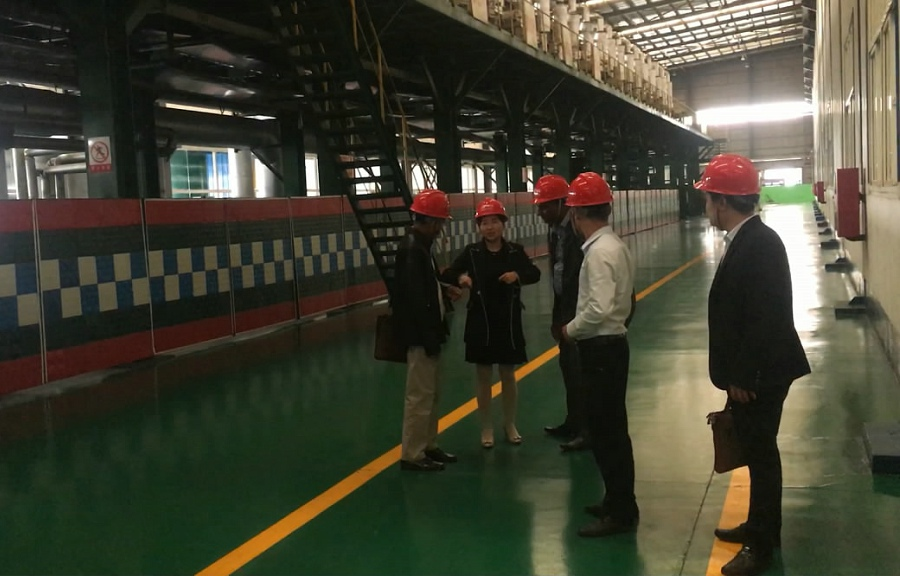 Sri Lanka Customer Visit Hengze Factory